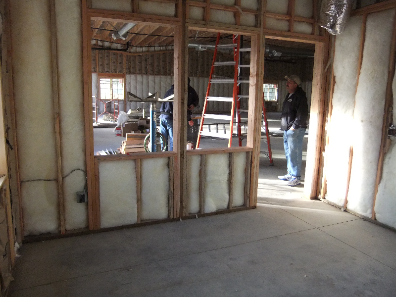 Commercial-Placerville-California-framing
