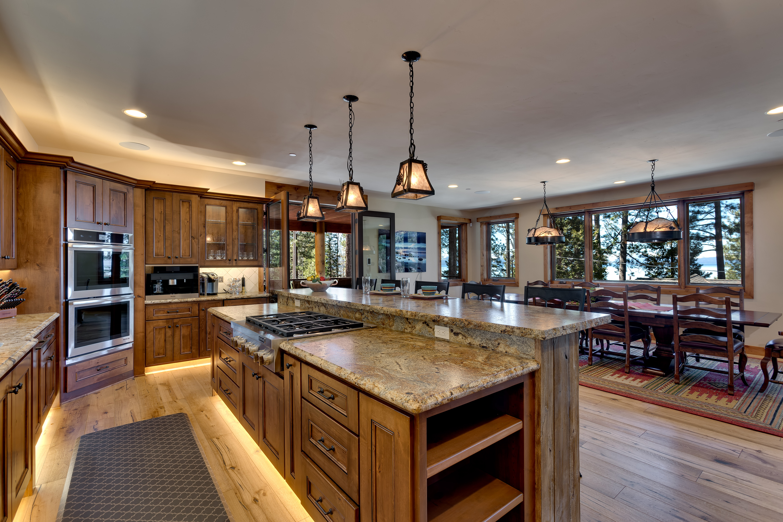 Lake Tahoe Custom Kitchen