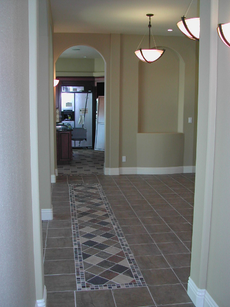 Custom-home-Dayton-hall-tile