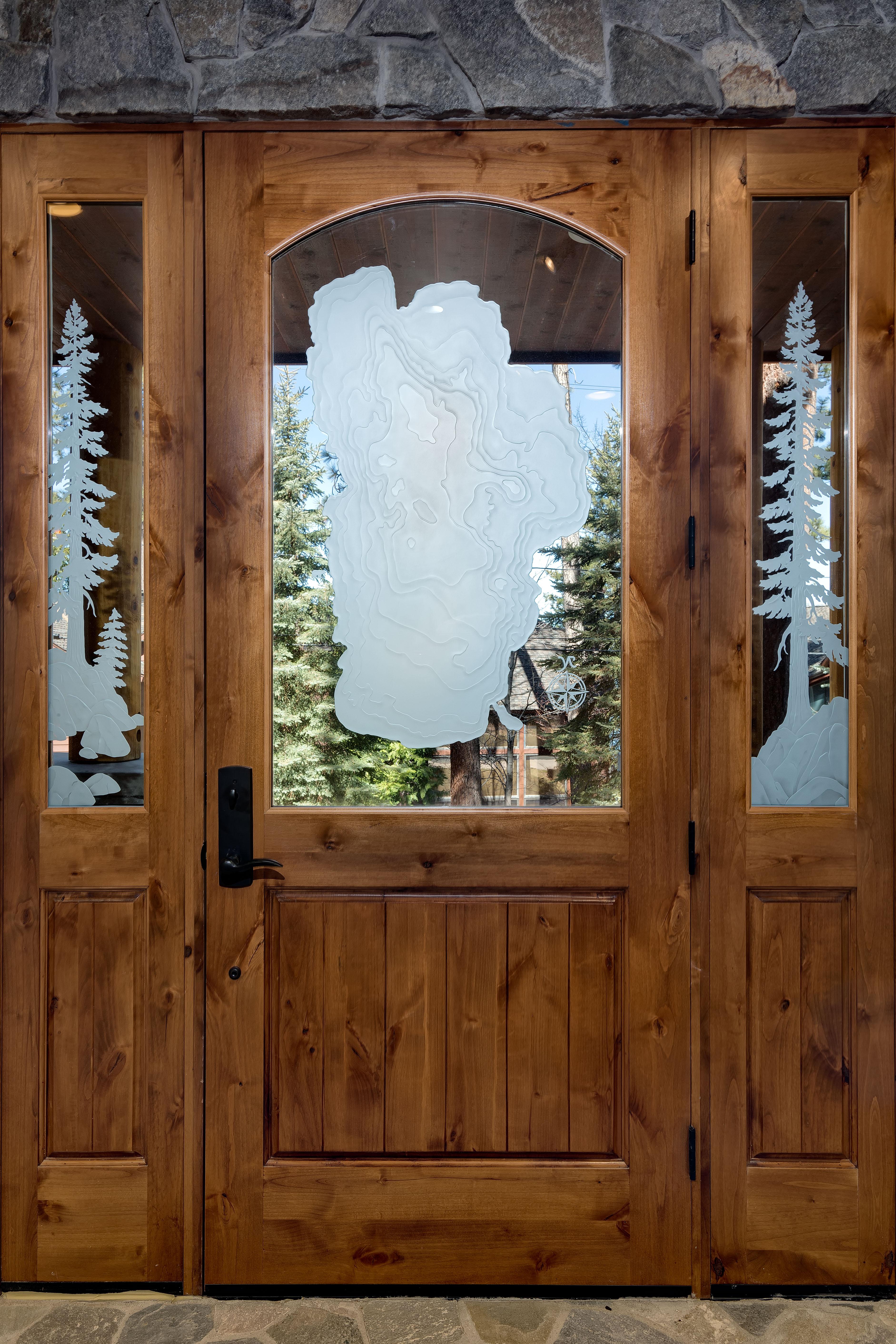 Lake Tahoe Custom Door